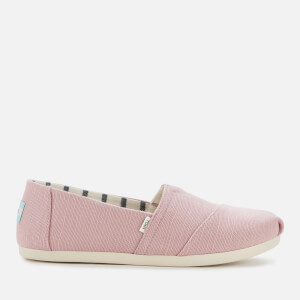 TOMS Women's Alpargata Slip-On Pumps - Pink Mauve