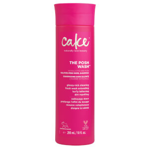 Cake The Posh Wash Sulfate-Free Swirl Shampoo 295ml