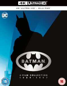 Coffret Collection Batman 4 Films 4K Ultra HD