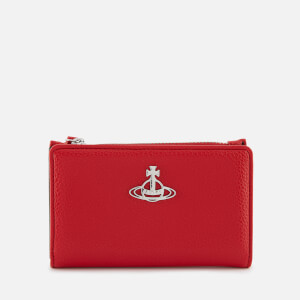 Vivienne Westwood Women's Johanna Slim Flap Card Holder - Red