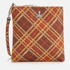 Vivienne Westwood Women's Derby New Square Cross Body Bag - Brown/Tartan