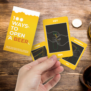100 Ways To Open A Beer Cards