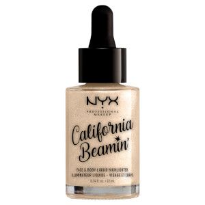 NYX Professional Makeup California Beaming Face and Body Liquid Highlighter 22ml (Various Shades)