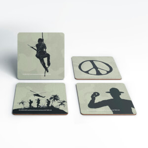 Full Metal Jacket Coaster Set