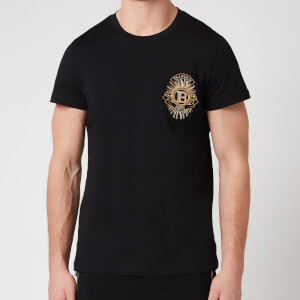 Balmain Men's Badge T-Shirt - Black