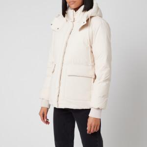 KENZO Women's Puffer Jacket - Ecru