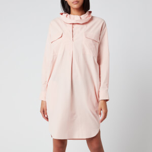 KENZO Women's Dress Cowl Collar - Faded Pink
