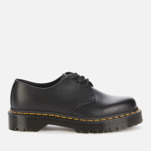 Dr. Martens 1461 Bex Smooth Leather 3-Eye Shoes - Black