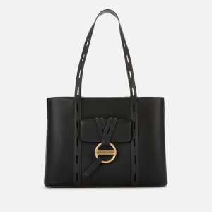 Love Moschino Women's Logo Disc Tote Bag - Black