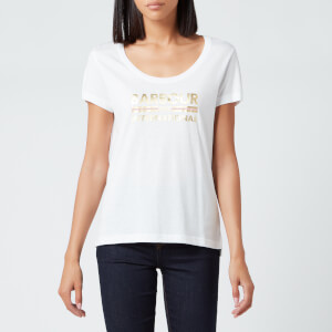 Barbour International Women's Hurricane T-Shirt - White