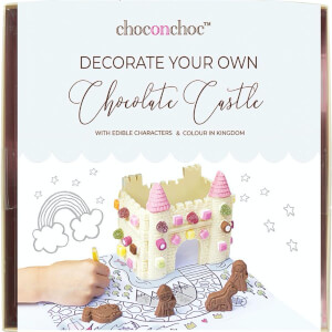 Decorate Your Own White Chocolate Castle
