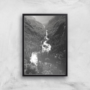 Yosemite Meander Giclee Art Print