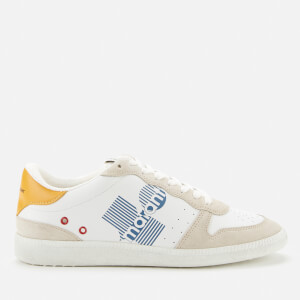 Isabel Marant Women's Bulian Leather Low Top Trainers - Yellow