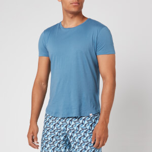 Orlebar Brown Men's OB-T Tailored Fit Crew Neck T-Shirt - Blue Haze