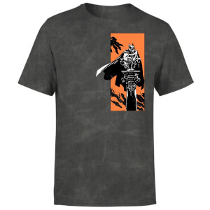 T-Shirt Batman Begins My Actions Define Me Unisexe - Noir Délavé