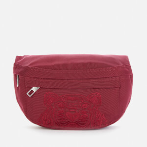 KENZO Men's Kampus Canvas Belt Bag - Magenta