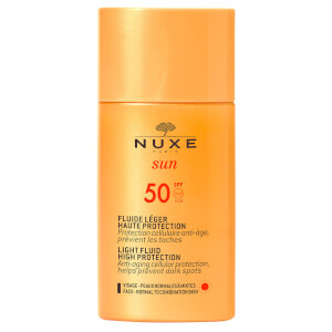 NUXE Sun SPF50 Light Face Fluid 50ml