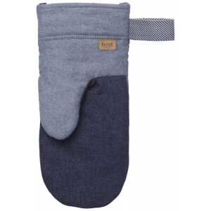 Ferm Living Denim Oven Mitt - Blue