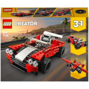 LEGO Creator: 3in1 Sports Car Toy Set (31100)