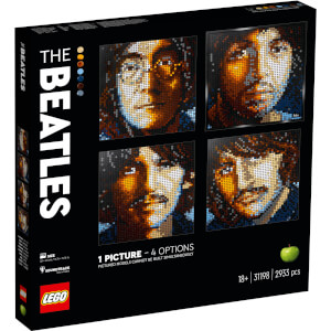 LEGO Art The Beatles Set for Adults Wall Décor (31198) from I Want One Of Those