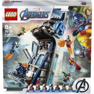 LEGO® Marvel: La tour de combat des Avengers (76166)