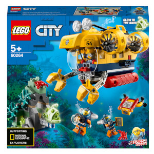 LEGO City Oceans: Ocean Exploration Submarine (60264)