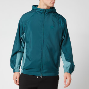 KENZO Men's Packable Windbreaker Jacket - Duck Blue