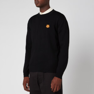 KENZO Men's Tiger Crest Jumper - Black