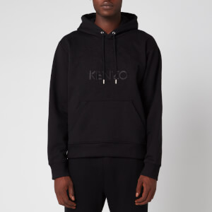 KENZO Men's Embossed Tiger Hoodie - Black