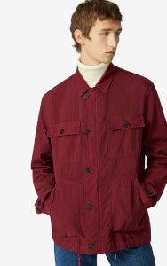 KENZO Men's Workwear Jacket - Magenta