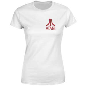 Atari White Tee Women's T-Shirt - White