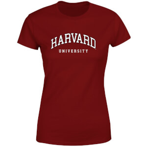 Harvard Burgundy Tee Women's T-Shirt - Burgundy
