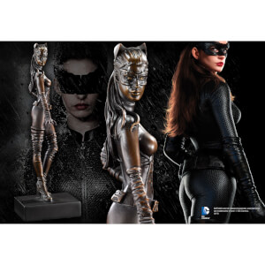 DC Comics Dark Knight Rises - Catwoman Bronze Sculpt
