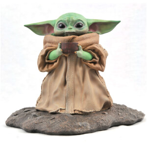 Gentle Giant Star Wars Mandalorian The Child (Baby Yoda) 'Soup Pose' 1/2 Scale Premier Collection Statue - Limited Edition