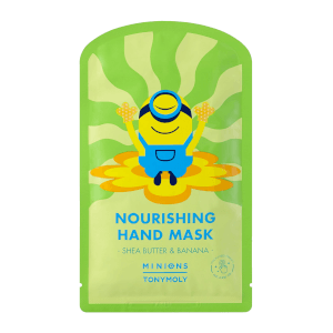 TONYMOLY x Minions Nourishing Shea Butter and Banana Hand Mask 0.5 oz