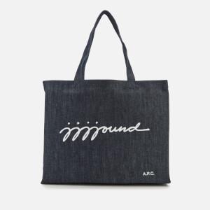 A.P.C. Men's JJJJound Shopper Bag - Indigo