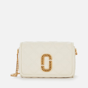 Marc Jacobs Women's Flap Cross Body Bag - Oatmilk