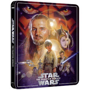 Star Wars Episode I: The Phantom Menace - Zavvi Exclusive 4K Ultra HD Steelbook (3 Disc Edition includes Blu-ray)
