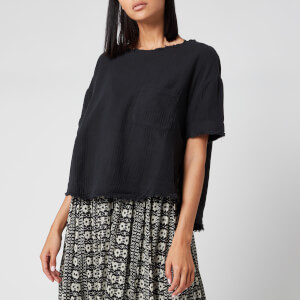 Free People Women's Palo Alto Top - Black