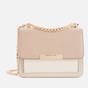 MICHAEL MICHAEL KORS Women's Jade XS Gusset Cross Body Bag - Light Sand/Multi