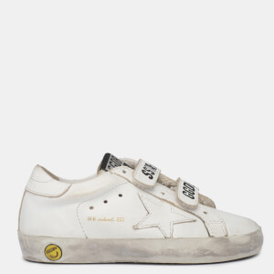 Golden Goose Deluxe Brand Toddlers' Old School Trainers - Optic White