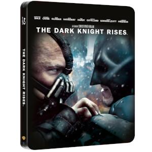 The Dark Knight Rises - Zavvi Exclusive 2 Disc Blu-ray Steelbook