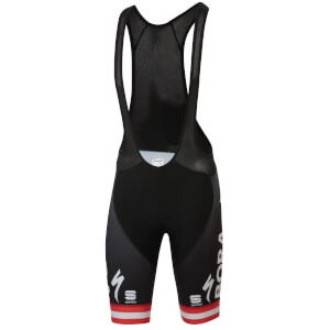 Sportful Bora Hansgrohe Austrian Champion BodyFit Pro Classic Bib Shorts - Black