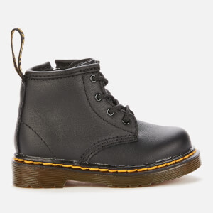 Dr. Martens Toddlers' 1460 Leather Lace-Up 4 Eye Boots - Black