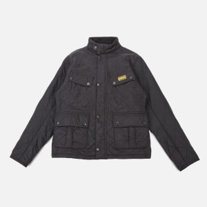 Barbour International Boys' Ariel Polar Quilt Jacket - Black
