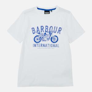 Barbour International Boys' Speed T-Shirt - White