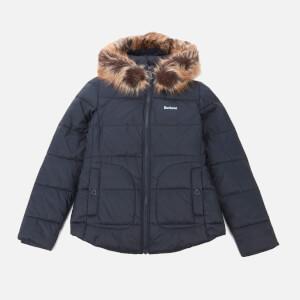Barbour Heritage Girls' Dover Quilt Jacket - DK Navy