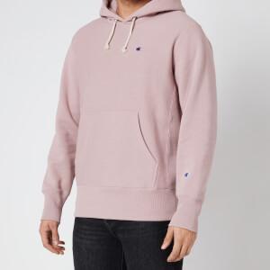 Champion Men's Reverse Weave Hoodie - Pink