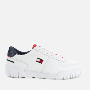 Tommy Jeans Men's Retro Low Top Trainers - Red White Blue