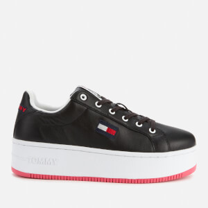 Tommy Jeans Women's Iconic Flatform Trainers - Black